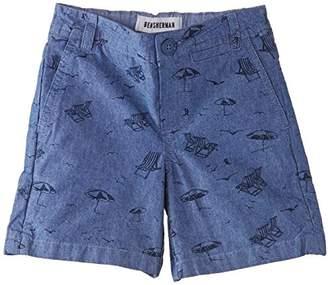 Ben Sherman Boy's Beach Print Chino Shorts