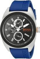 BOSS ORANGE Men's 1513245 LONDON Analog Display Japanese Quartz Blue Watch