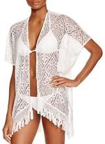 BECCA® by Rebecca Virtue Amore Lace Kimono Swim Cover Up