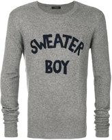 Unconditional Sweater Boy jumper