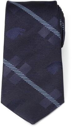 Cufflinks Inc. x Game of Thrones Stark Direwolf Plaid Silk Tie