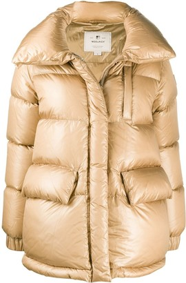 Woolrich Oversized-Collar Puffer Jacket