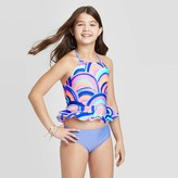 Cat & Jack Girls' Rainbow Ruffle Tankini Swimsuit Set - Cat & JackTM
