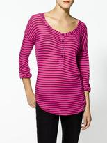 Splendid Vienna Stripe Long Sleeve Tee