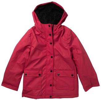 Urban Republic Faux Shearling Lined Raincoat