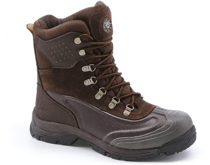 e195b8c6f9a KINGSHOW Men's 1586-1 Waterproof Cold Weather Boot 11 D(M) US