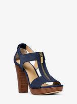 Michael Kors Berkley Suede Platform Sandal