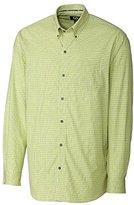 Cutter & Buck Men's Long Sleeve Fraser Check Shirt