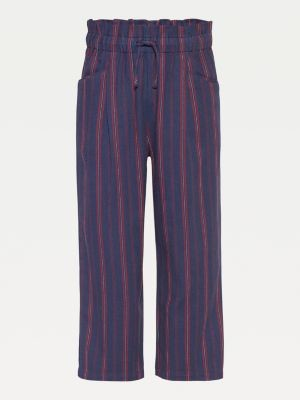 Tommy Hilfiger Stripe Paperbag Trousers