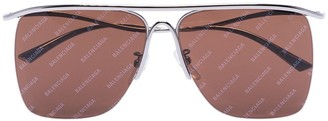 Balenciaga Eyewear Curve square-frame sunglasses