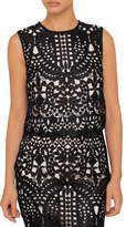 Ted Baker Falisia Lace Contrasttrim Top