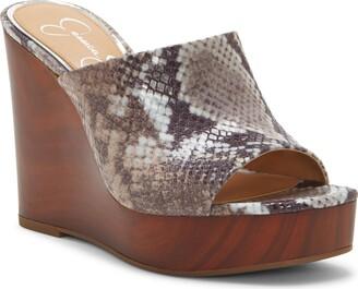 Jessica Simpson Shantelle Wedge Slide Sandal