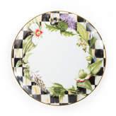 Mackenzie Childs MacKenzie-Childs Garland Thistle & Bee Dinner Plate