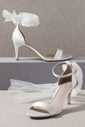 BHLDN Palumbo Heels By in White Size 9