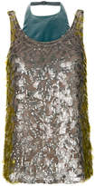 Valentino sequin embroidered vest