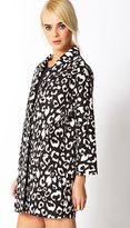 Forever 21 Wild Thing Leopard Trench Coat
