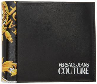 Versace Black Barocco Bifold Wallet