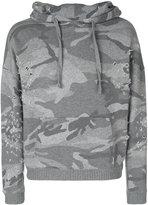 IRO camouflage print hoodie