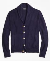 Brooks Brothers Supima® Cotton Shawl Collar Cardigan