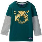 Toobydoo Tiger Twofer Tee (Toddler & Little Boys)