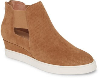 Linea Paolo Amanda Slip-On Wedge Bootie