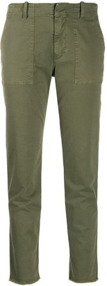 Nili Lotan Jenna mid-rise tapered trousers