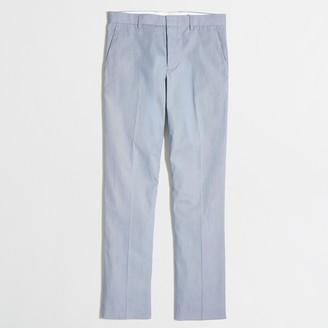 J.Crew Slim Thompson suit pant in corded cotton