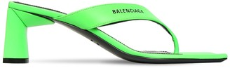 Balenciaga 60mm Leather Thong Sandals