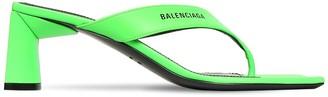 Balenciaga 60MM LEATHER THONG SANDALS