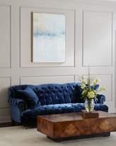 Haute House Divina Tufted Crushed Velvet Sofa