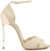 Casadei glitter open toe sandals