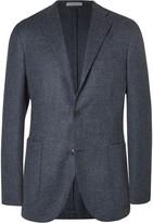 Boglioli - Blue Slim-fit Wool And Cashmere-blend Blazer