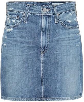AG Jeans Vera denim miniskirt