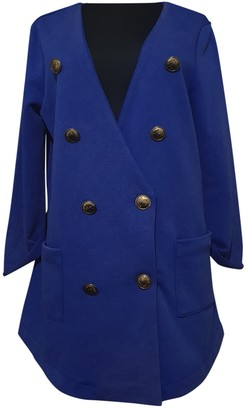 5Preview 5 Preview Blue Cotton Jacket for Women