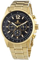 Burgmeister Men's BM608-229 Analog Display Quartz Gold Watch