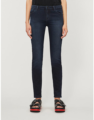Emporio Armani J23 mid-rise skinny jeans