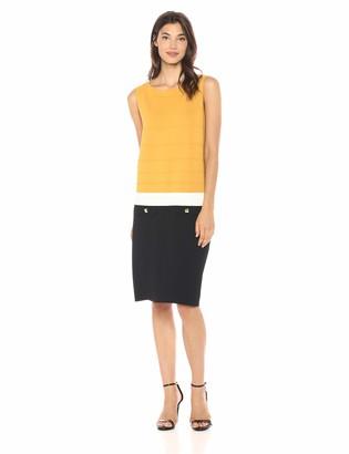 Anne Klein Women's Sheath Sweater Dress