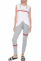Lauren Moshi Kizzy Zipper Sweatpants