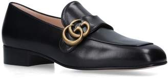 Gucci Leather Marmont Loafers