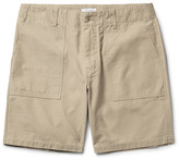 Saturdays Nyc Evan Slub Cotton Shorts