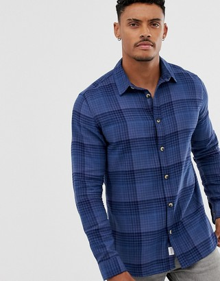 ONLY & SONS check shirt-Blue