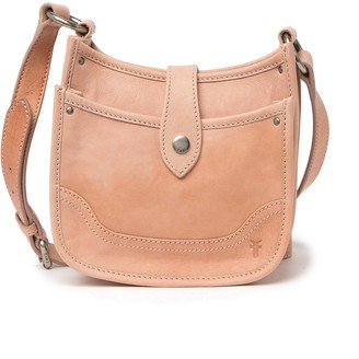 Frye Madison North South Leather Mini Crossbody Bag