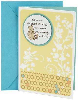 "Hallmark Baby ""Winnie the Pooh"" Greeting Card"