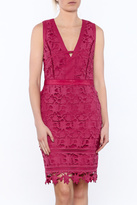 Adelyn Rae Lace Sheath Dress