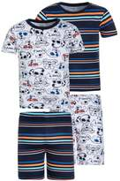 Carter's DOG WITH SUNGLASSES 2 PACK Pyjama set white