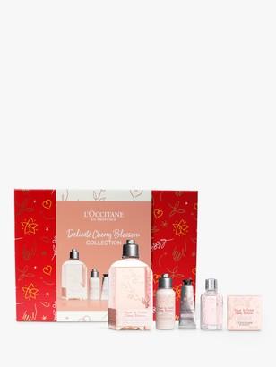 L'Occitane Delicate Cherry Blossom Collection Bodycare Gift Set
