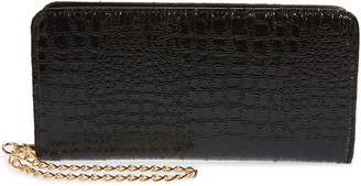 BP Embossed Faux Leather Wallet