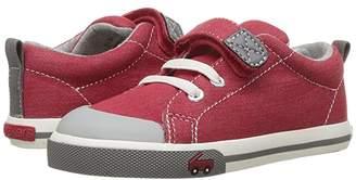 See Kai Run Kids Stevie II (Toddler/Little Kid) (Red/Gray) Boy's Shoes