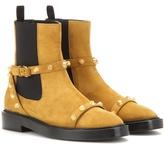 Balenciaga Giant Suede Chelsea Boots