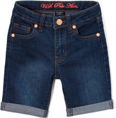 U.S. Polo Assn. Blue Wash Bermuda Short - Toddler & Girls